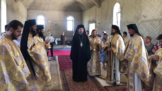 Slujire arhierească la Mănăstirea Înălțarea Domnului și a Tuturor Sfinților Români de la Țiganca cu ocazia sărbătorii Sfântului Voievod Ștefan cel Mare