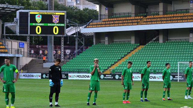Zimbru a debutat cu o înfrângere în noul sezon al Diviziei Naționale