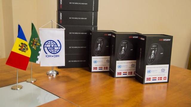 OIM a livrat opt scanere termografice Poliției de Frontieră