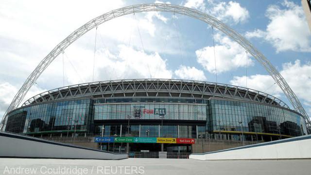 Fotbal/Coronavirus: În așteptarea EURO 2020, stadionul Wembley se consolează cu un baraj din liga a doua engleză