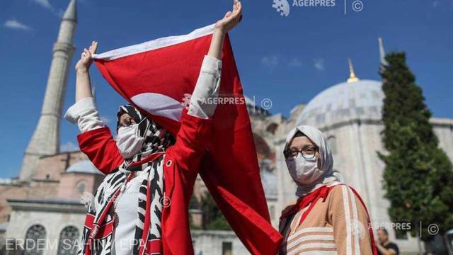 Turcia a început pregătirile pentru transformarea Hagia Sofia în moschee