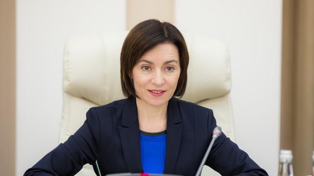 Maia Sandu: Voturile pentru demiterea Guvernului pot fi găsite doar la PDM