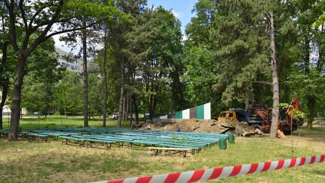 Primăria sectorului 6 București a alocat bani pentru reconstrucția Parcului Alunelul din Chișinău
