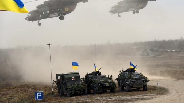 Ucraina va organiza exerciții militare în același timp cu manevrele preconizate de Rusia în Caucaz