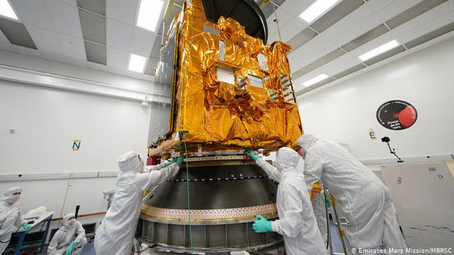 VIDEO | Prima misiune spațială arabă spre Marte a fost lansată cu succes din Japonia