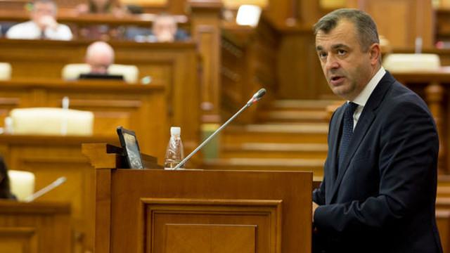 UPDATE  | Raportul premierului Ion Chicu a fost întrerupt din nou de un protest al opoziției