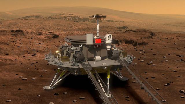 Prima misiune spre Marte exclusiv chinezească, a fost lansată cu succes