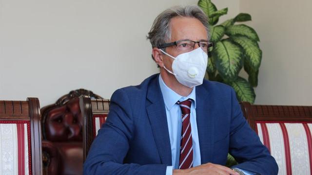 Vicepremierul Cristina Lesnic a avut o întrevedere de lucru cu șeful Misiunii OSCE în R. Moldova