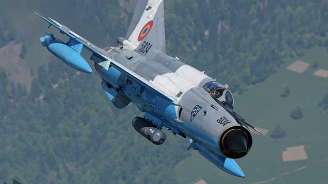 Două aeronave MiG-21 românești au interceptat patru avioane ale Rusiei deasupra Mării Negre