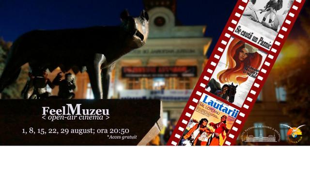 Cinematograf în aer liber la Muzeul Național de Istorie a Moldovei