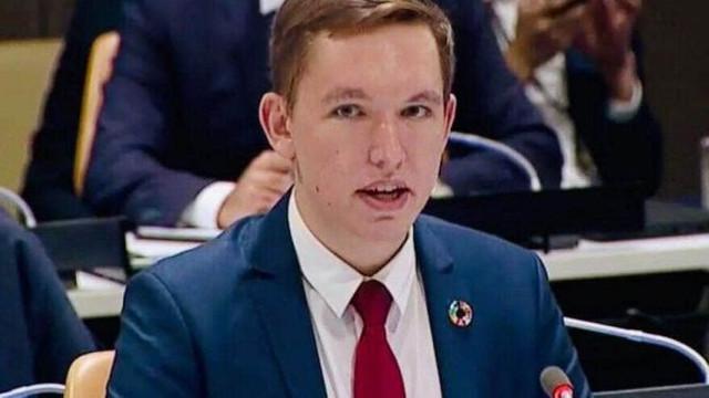 """Tânăr din R.Moldova, consilier al Secretarului General al ONU. """"M-a numit să fiu membru primului, în istorie, Grup Consultativ de Tineret pe Schimbări Climatice"""""""