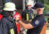 FOTO/VIDEO | Pompieri și salvatori instruiți în Germania vor activa ca voluntari la Bravicea, pentru noul post teritorial deschis astăzi