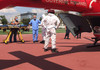 FOTO | O nouă intervenție a echipajul aero –medical SMURD Iași