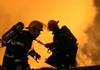 Accident grav de circulație la Soroca. Două TIR-uri au fost cuprinse de flăcări după ce s-au ciocnit. Un șofer a murit