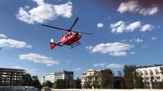 GALERIE FOTO   O nouă intervenție de transportare aeriană a SMURD Iași în R.Moldova. Un pacient a fost adus de la Sângerei la Chșinău