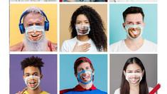 FOTO | O companie franceză comercializează măști pe care este imprimat zâmbetul posesorului