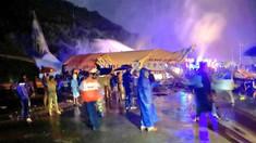 Un avion cu 191 de persoane s-a prăbușit la aterizare, în India: cel puțin 18 morți