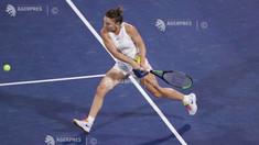 Tenis: Simona Halep, victorie dificilă în primul tur la Praga, după o pauză de aproape 6 luni