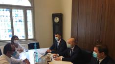 """Directorul AMDM a discutat cu europarlamentarul român, Cristian Bușoi: """"Mizăm pe susținerea României și UE în obținerea vaccinului anti-COVID-19"""""""