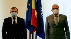 Andrei Năstase, în cadrul întrevederii cu ambasadorul Daniel Ioniță: Mă bucur să constat că România este foarte atentă la evoluția situației de la Chișinău