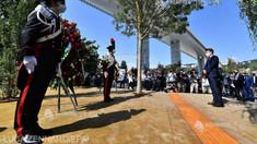Italia a comemorat doi ani de la prăbușirea podului de la Genova