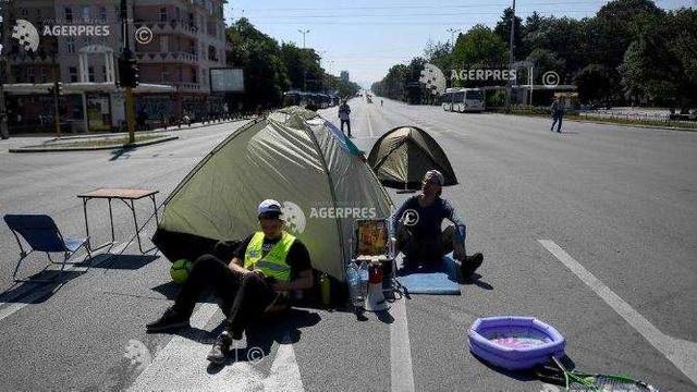Protestatarii bulgari blochează centrul capitalei Sofia și autostrada spre Grecia