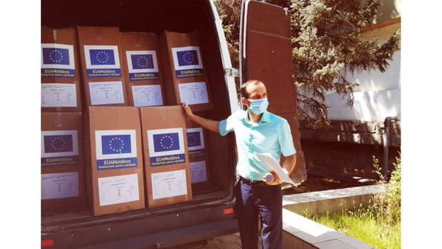 Medici de familie din Cahul au primit ajutor de la UNICEF pentru lupta cu COVID-19