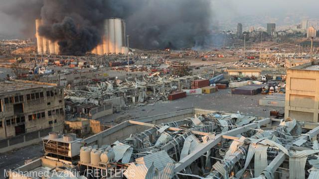 Sute de mii de persoane au rămas fără locuințe, în urma devastatoarei explozii produse în portul din Beirut