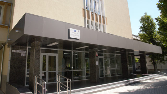 Un bloc de studii al UTM a fost reabilitat termic. Valoarea proiectului este de 4,6 milioane de lei