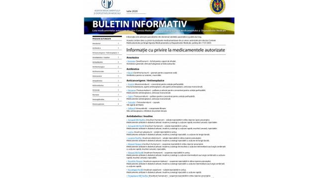 A fost lansat primul Buletin cu date despre medicamentele autorizate în R. Moldova