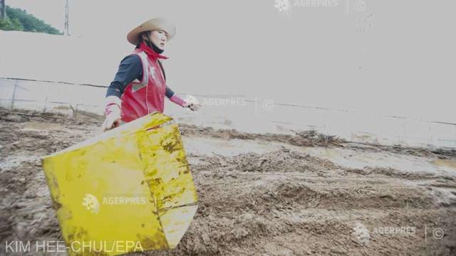 Alunecare de teren soldată cu cel puțin 4 morți în Coreea de Sud