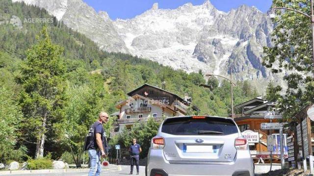 Mont Blanc: Starea de alertă care viza ghețarul italian Planpincieux a luat sfârșit
