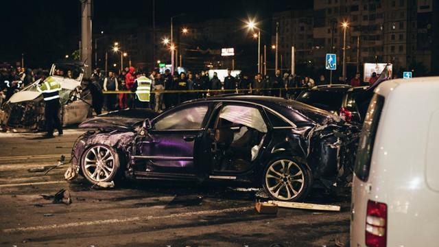 Verdict pentru șoferul automobilului Audi, care a provocat groaznicul accident în centrul capitalei