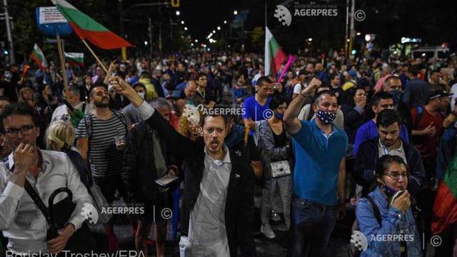 Protestatarii din Bulgaria îi dau un ultimatum premierului Borisov