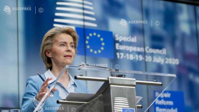 Ursula von der Leyen, primul discurs privind starea UE: Pandemia a arătat limitele unui model care pune bogăția în fața bunăstării