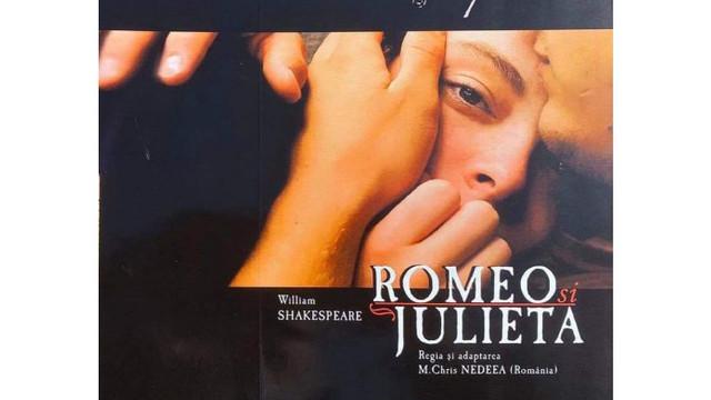 """Teatrul """"Eugene Ionesco"""" va difuza online spectacolul """"Romeo și Julieta"""""""