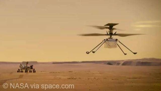 """NASA: Elicopterul Ingenuity a efectuat """"cel mai complex"""" zbor al său pe planeta Marte"""