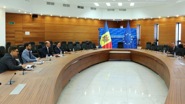 Organizarea alegerilor prezidențiale peste hotare discutată cu misiunea de evaluare a necesităților a Biroului OSCE pentru Instituții Democratice și Drepturile Omului