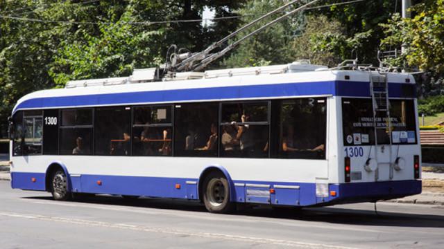 Troleibuzul nr.10 nu mai ajunge la Telecentru, iar nr. 24 va ocoli zona centrală