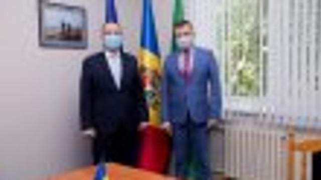 Șeful Poliției de Frontieră a avut o întrevedere cu atașatul de afaceri interne din cadrul Ambasadei României la Chișinău