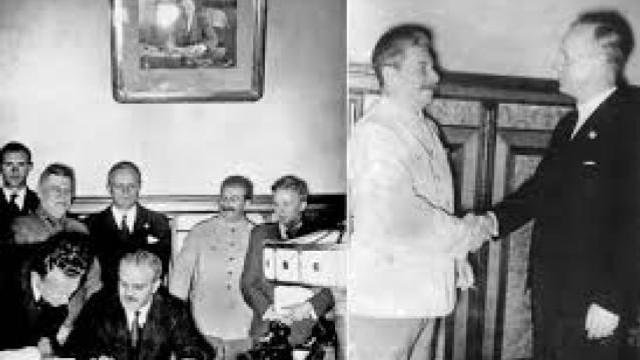 Astăzi se împlinesc 81 de ani de la semnarea Pactului Ribbentrop-Molotov