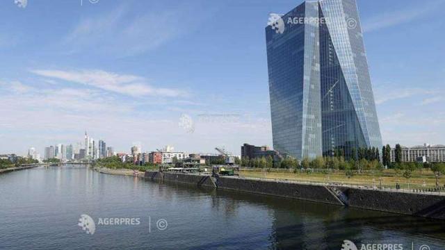 Economia zonei euro evoluează în linie cu așteptările Băncii Centrale Europene (oficial BCE)