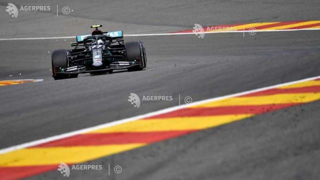 Auto-F1: Bottas (Mercedes), cel mai rapid în primele antrenamente libere din Belgia