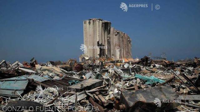 Banca Mondială estimează că explozia din portul Beirut a provocat pierderi de peste opt miliarde de dolari
