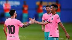 Fotbal: Messi a reușit o dublă pentru FC Barcelona în amicalul cu Girona