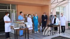 FOTO | Donație de echipamente medicale, din partea Guvernului României, pentru spitalul raional din Comrat