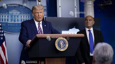 SUA: Președintele Trump promite suficiente vaccinuri pentru toți americanii până în aprilie 2021
