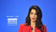 Brexit: Amal Clooney părăsește postul de emisar special în semn de protest față de proiectul de lege al premierului