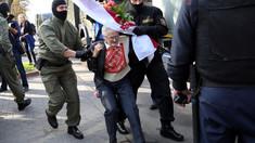 Sute de femei arestate în Belarus, inclusiv bunica de 73 de ani devenită simbol al protestelor