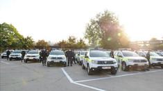 Poliția a primit în dotare 52 de mașini noi